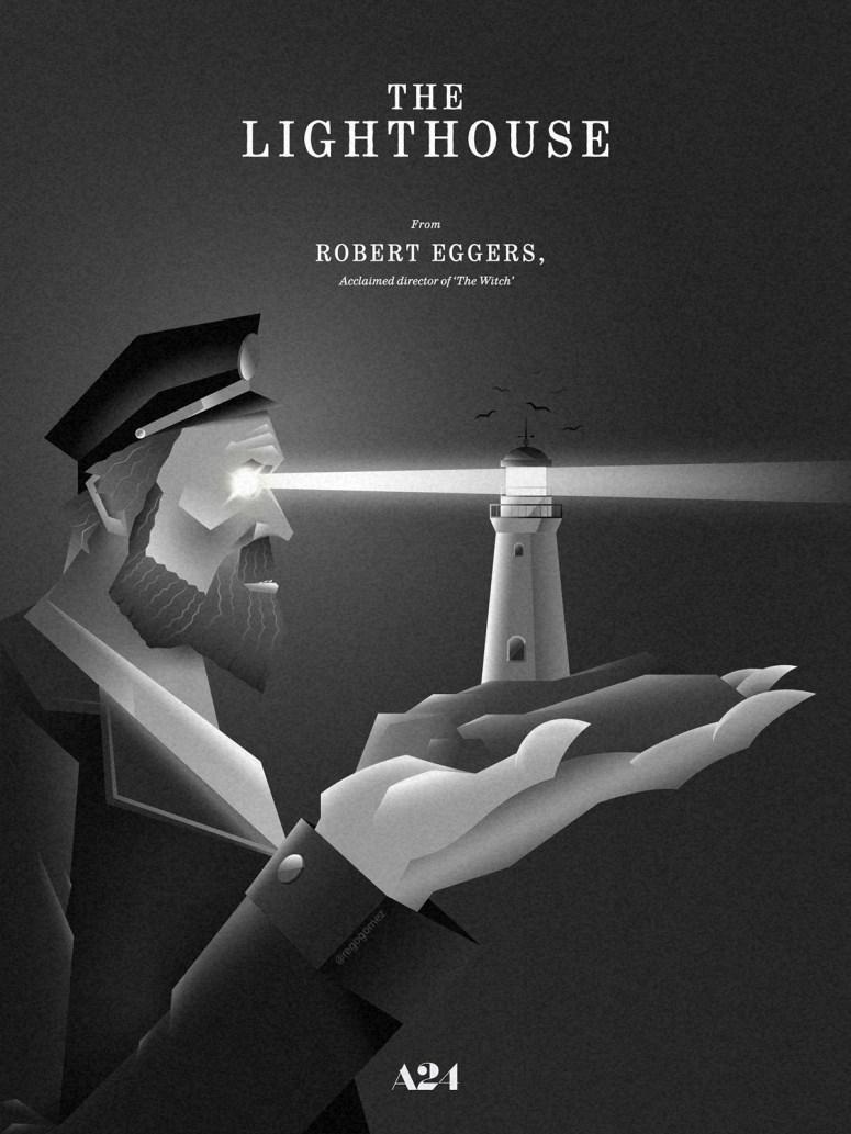 The Lighthouse fanart poster on Behance