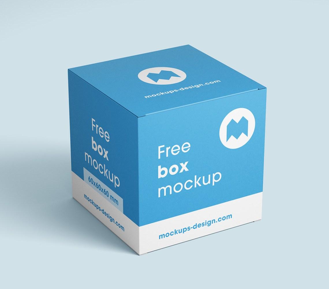 Download Free box mockup on Behance