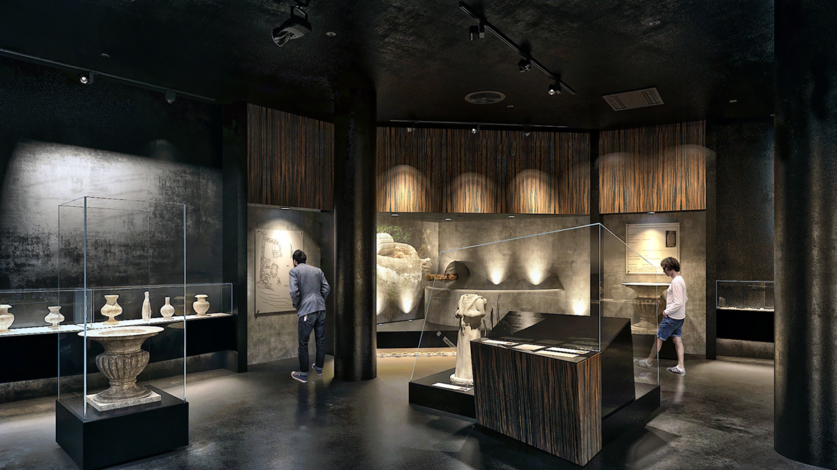 Archeology Museum On Behance