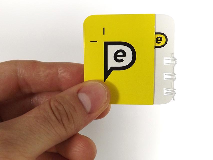 Business card & card-bracket. Eye expert logotype. on Behance
