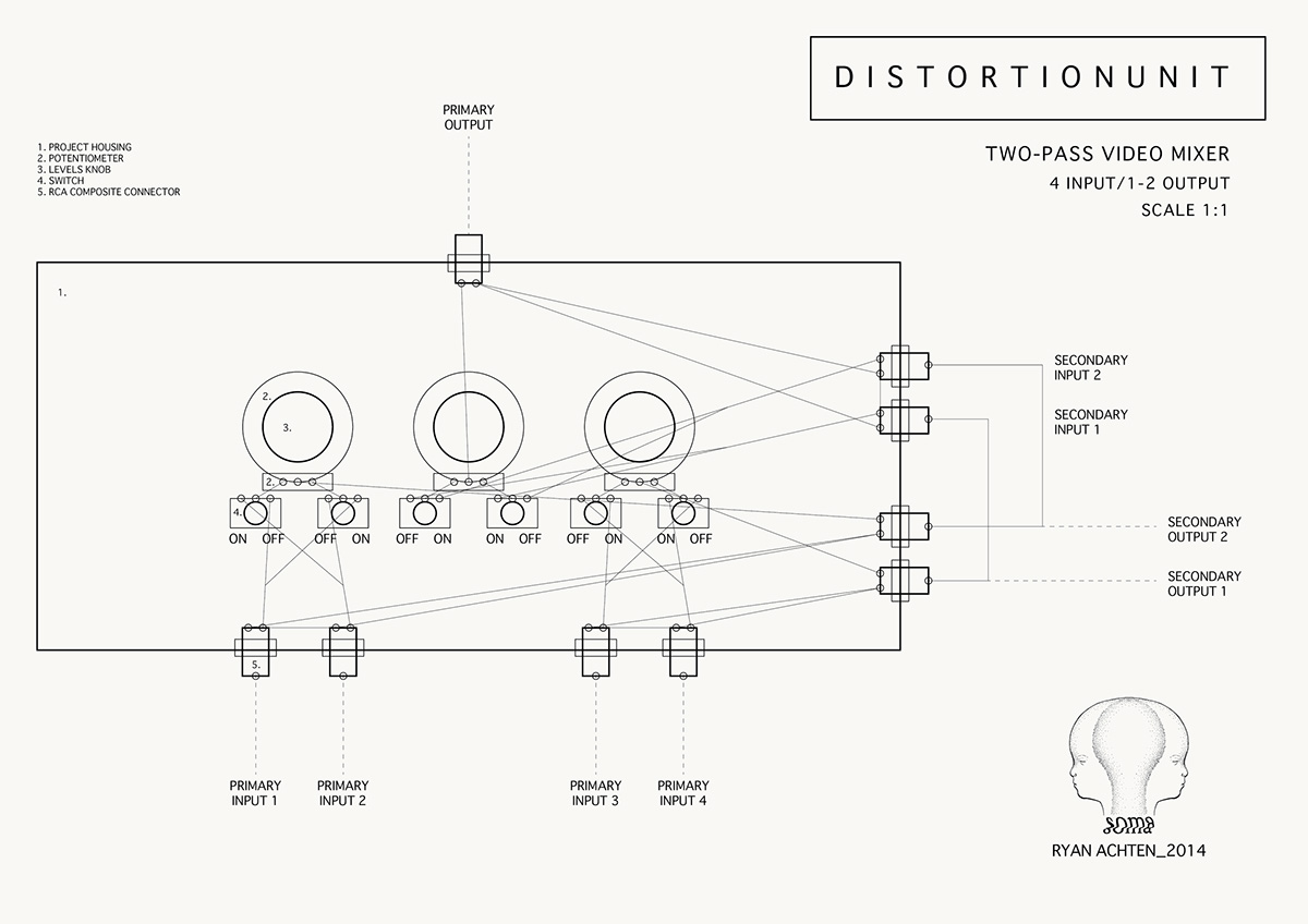 Distortion Unit Gencam On Behance