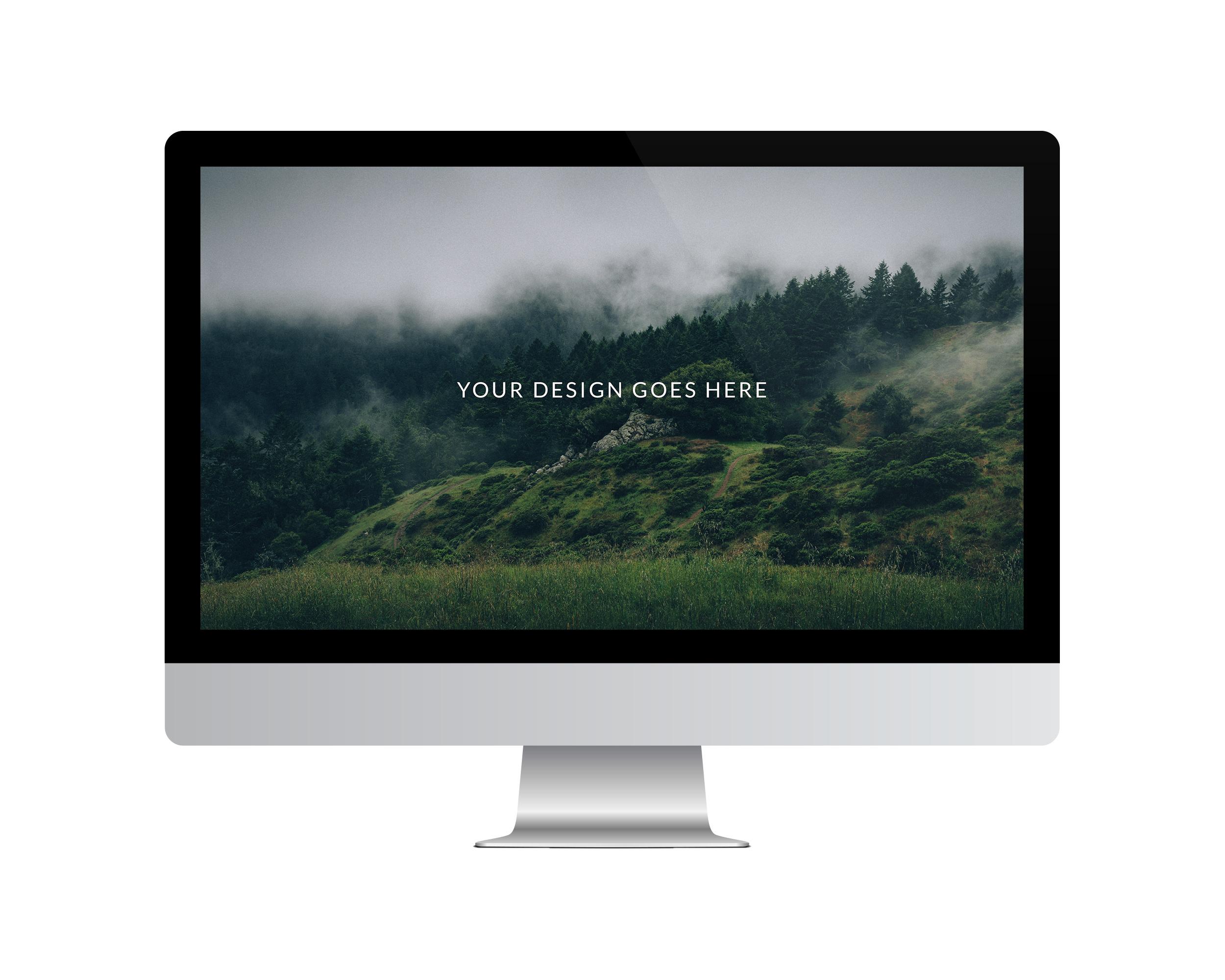 Desktop Vector Mockup Set Flat Version On Behance