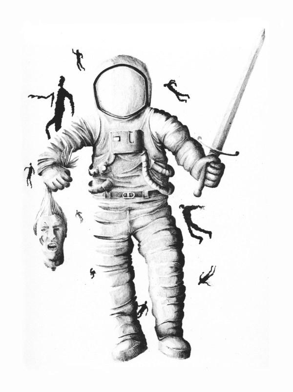 Fernando Silva Astronaut Zombie Hunter