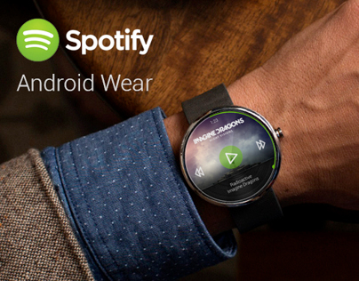 Image result for spotify on android wear