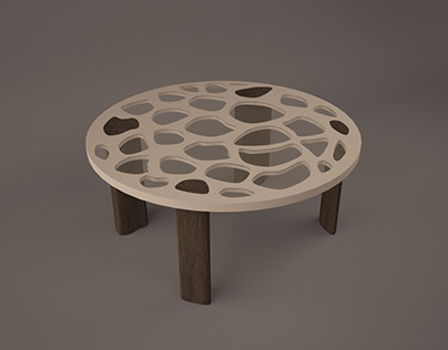 plywood table on behance