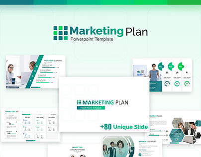 Business Plan Free Powerpoint Template On Behance