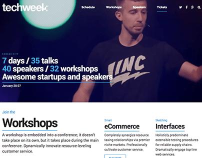 Techweek Concept