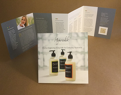 Ayurvedik Body Milk brochure