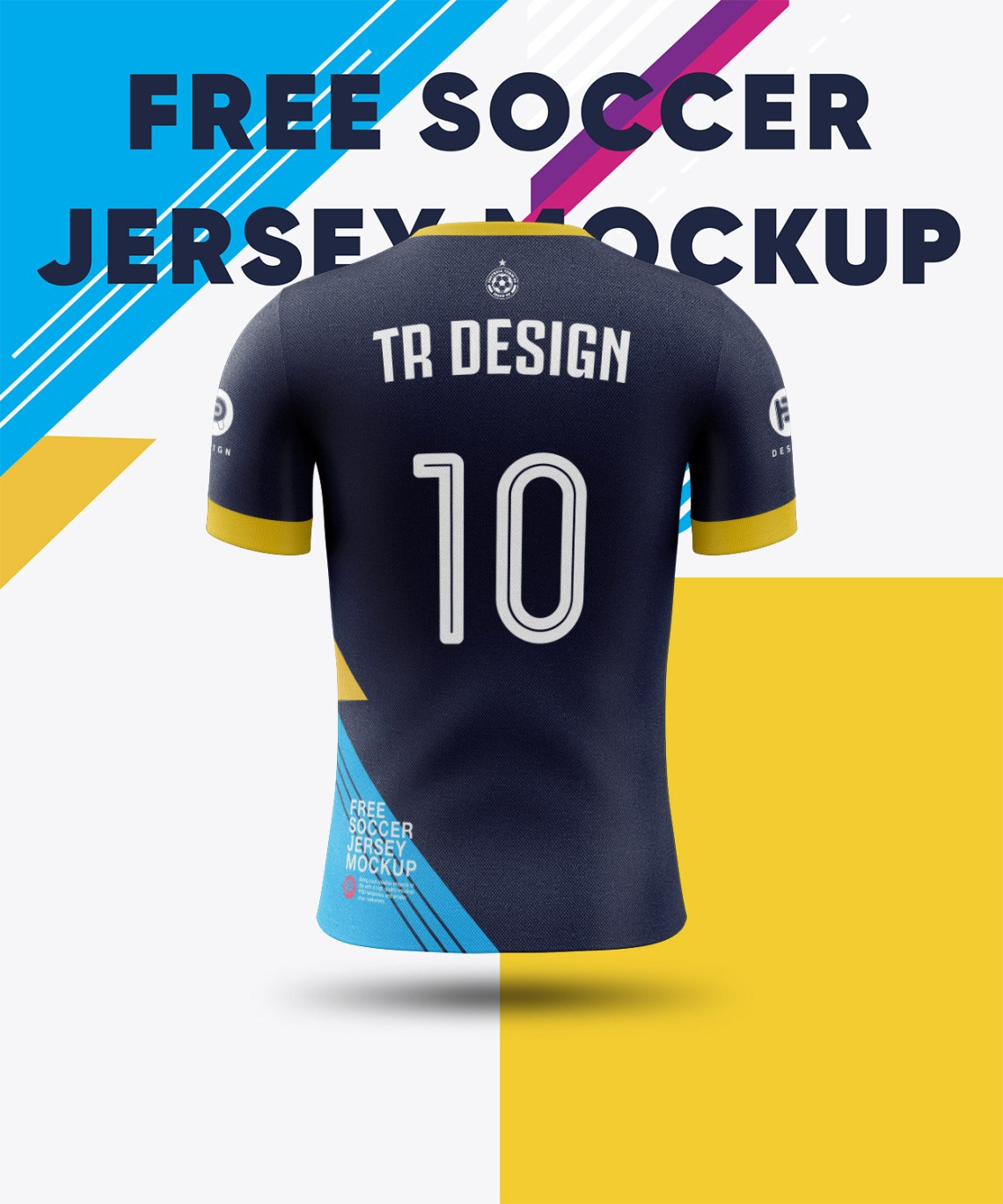 Download Football Jersey Soccer Jersey Mockup - Free PSD Mockups ...