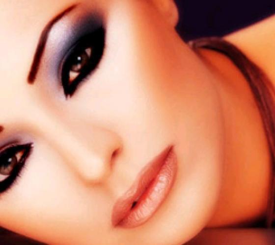 Красивый макияж на черные глаза: фото. Как правильно ...