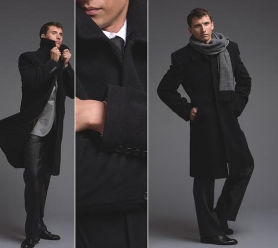 Мужской зимний шарф под пальто. Подбираем шарф мужчине ...