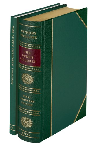 The Folio Society edition of The Duke's Children