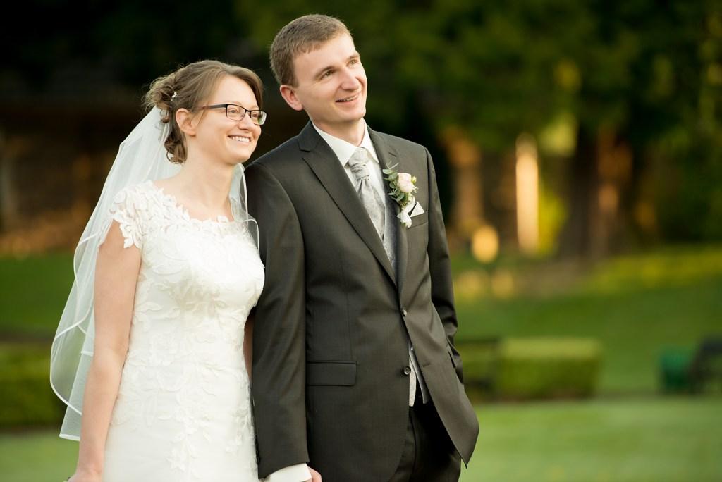 Brautpaar Edurad und Liane