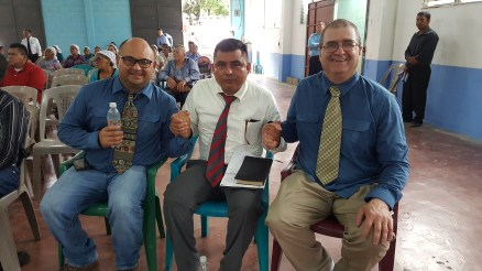 Pastor Chica, Francisco and Tomas.