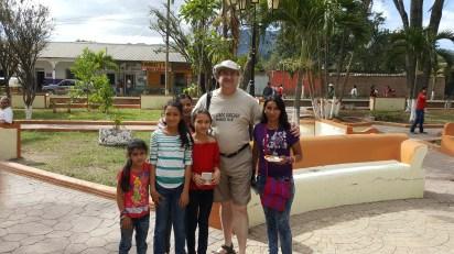 Evangelizing in the park