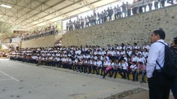 High School in San Marcos Ocotepeque Honduras