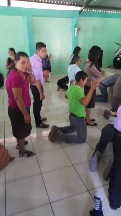 Worshiping in Honduras