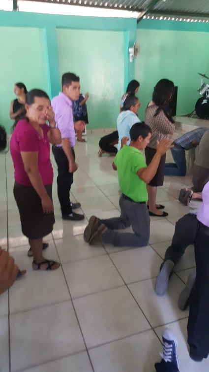 Worshiping in Honduras