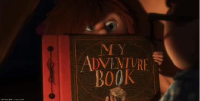 ellie carl up adventure book desapego