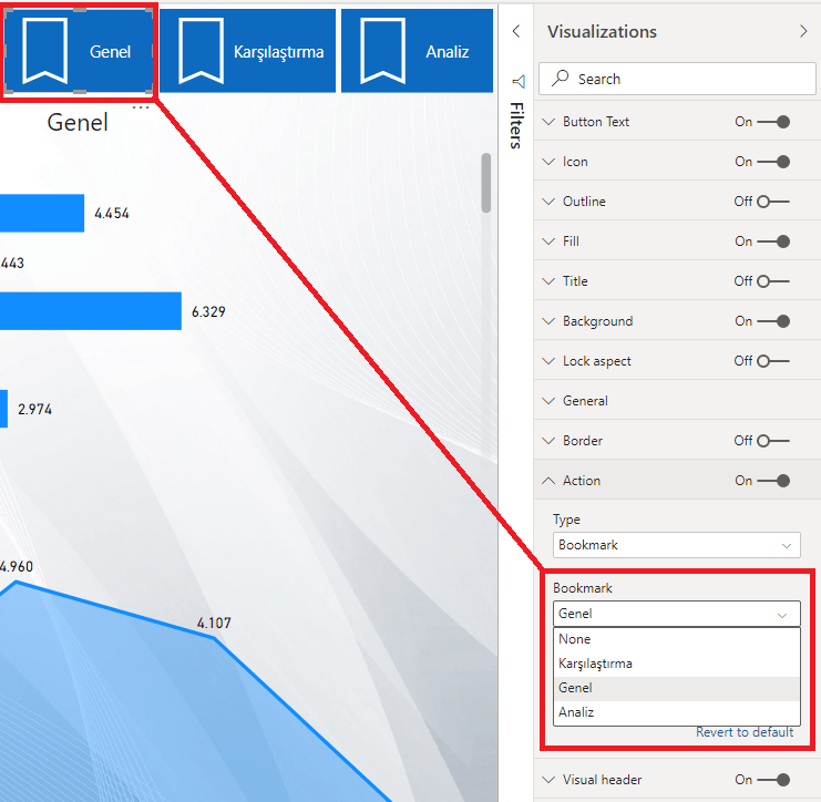 microsoft-power-bi-report-bookmark-selection-action-page