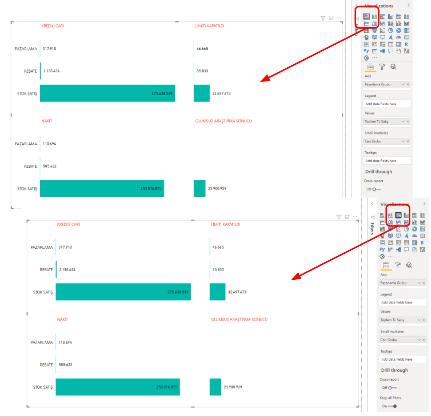 microsoft power bi november preview features updates small multiples different visual