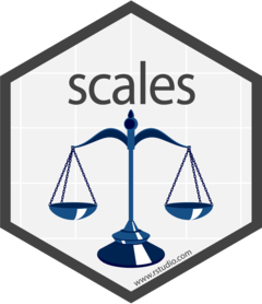 r statistic package scale