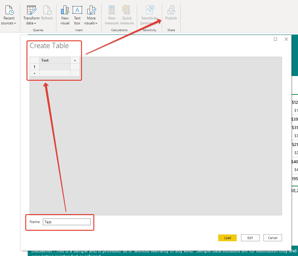 power bi report builder reporting file control add data