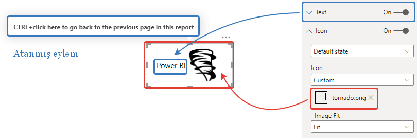 microsoft power bi new formatting options for buttons create