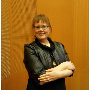 Podcastien tekijä Kaisa on myös vyöhyketerapeutti, jolla on hoitotila Helsingissä.