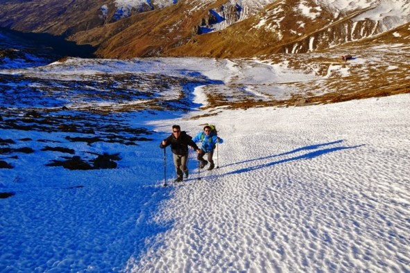 Ascensión al Mulhacén en invierno