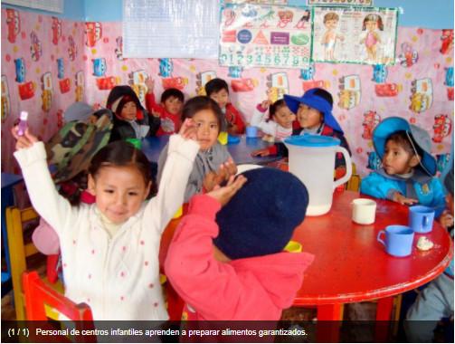 Inocuidad alimentaria en centros infantiles