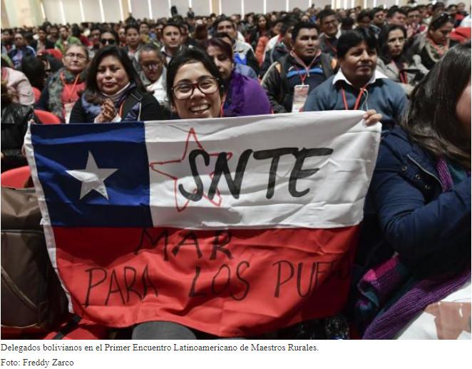 Encuentro de maestros destaca el Modelo Educativo boliviano