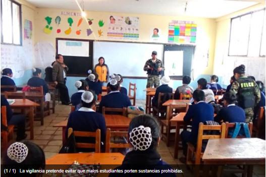 "Plan ""Mochilas Seguras"" llegó a 13 colegios"