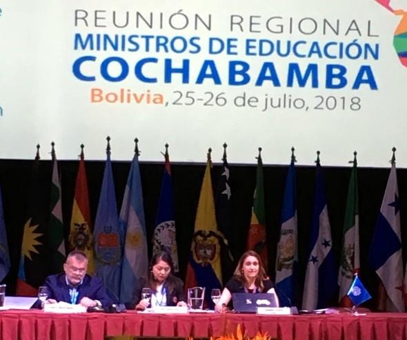 CLADE defiende una educación pública, inclusiva y con financiamiento adecuado en Reunión Regional de Ministras/os de Educación
