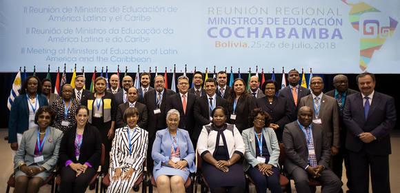 Ministros de América Latina y el Caribe adoptan Hoja de Ruta para avanzar hacia una educación de calidad, inclusiva y con equidad