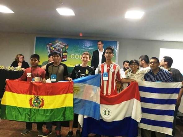 Bolivianos que participaron en 29va Olimpiada Científica de Matemáticas en Brasil dejaron huellas