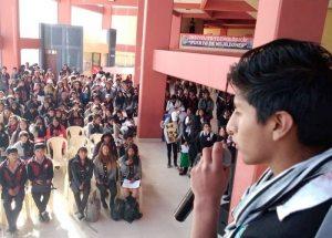 Jóvenes participan en conversatorio sobre salud sexual y reproductiva