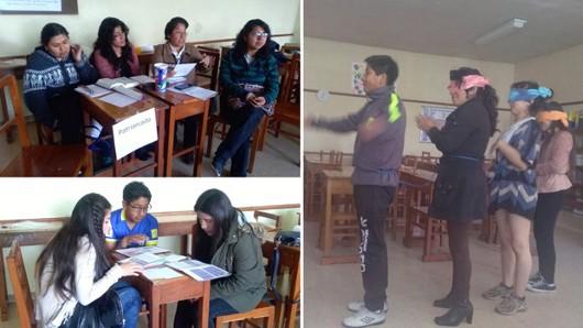 Se desarrollaron talleres contra la violencia de género