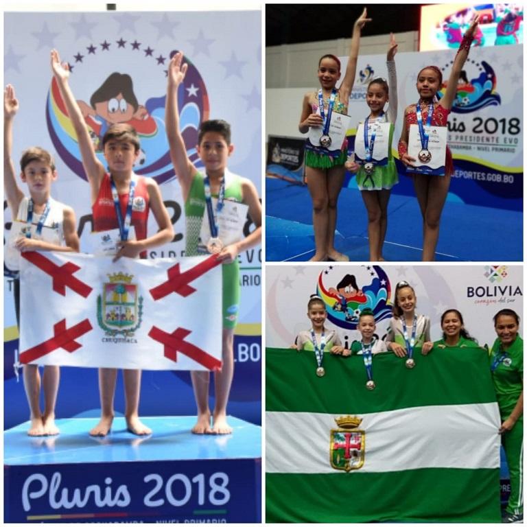 Plurinacionales del nivel primario entregó sus primeras medallas de oro, plata y bronce