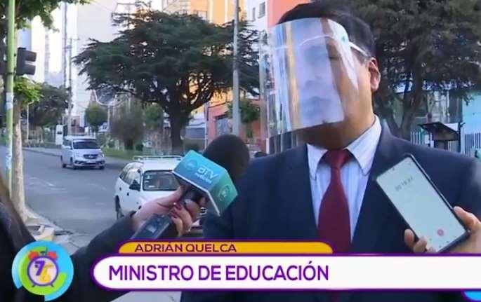 El 80% de los estudiantes escolares en Bolivia ya asisten a las unidades educativas