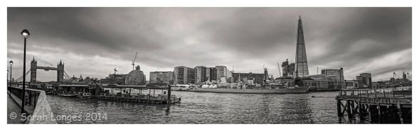 Tower Bridge, City Hall, HMS Belfast and The Shard
