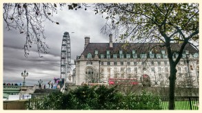 The London Eye and Marriott Hotel