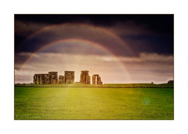 Rainbow Over Stonehenge