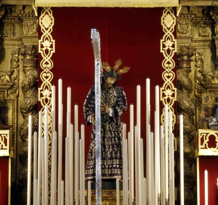 BENDICIÓN DE LA NUEVA CRUZ DE PLATA DE JESÚS NAZARENO