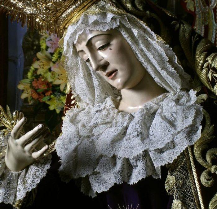 EDITADO EL CARTEL DEL BESAMANOS A NUESTRA SEÑORA DE LOS DOLORES EN SU SOLEDAD