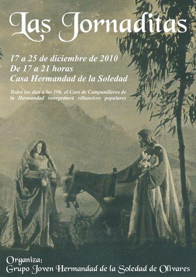 EL GRUPO JOVEN DE LA HERMANDAD DE LA SOLEDAD RECUPERA TRADICIONES NAVIDEÑAS EN SU XXV ANIVERSARIO