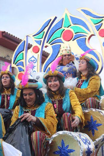 LOS REYES MAGOS ADELANTAN LA CABALGATA 2011 PARA EVITAR EL MAL TIEMPO
