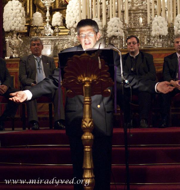 GALERÍA DE IMÁGENES DEL XVI PREGÓN DE LA SEMANA SANTA DE OLIVARES 2011