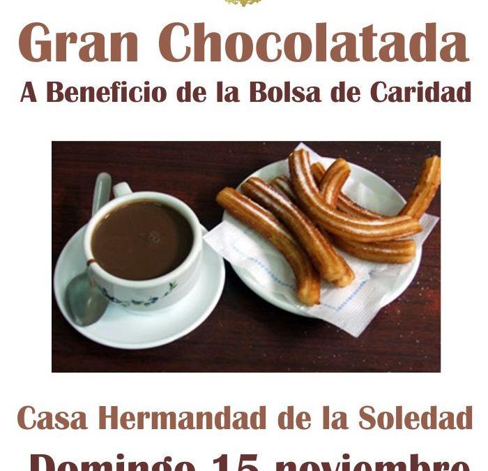 CHOCOLATAD A BENEFICIO DE LA BOLSA DE CARIDAD