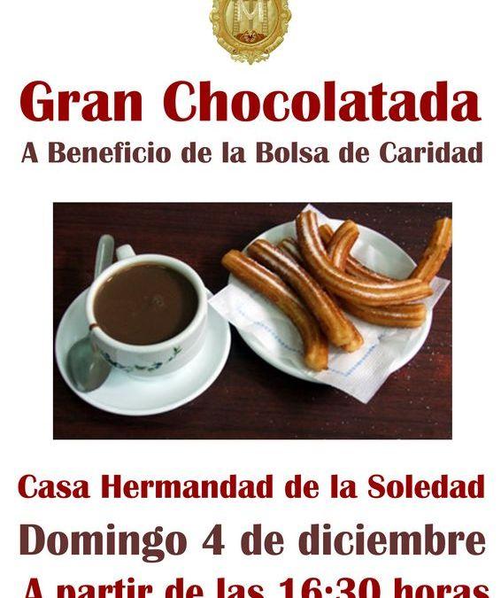 CHOCOLATADA A BENEFICIO DE LA BOLSA DE CARIDAD